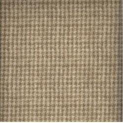"23"" Remnant  - Woolies Flannel - Tan Mini Houndstooth  - by Maywood Studios"