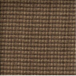 "26"" Remnant - Woolies Flannel - Brown Check - by Maywood Studios"