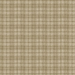 "32"" Remnant - Woolies Flannel - Tan Plaid - by Maywood Studios"