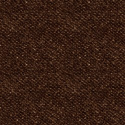 "9"" Remnant - Woolies Flannel - Dk Brown Texture - by Maywood Studios"