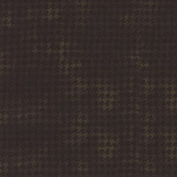 "18"" Remnant - Woolies Flannel - Brown Houndstooth - by Maywood Studios"