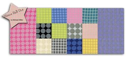 Fat Quarter Bundle - <br>Mirror Ball Dots - 14 Piece
