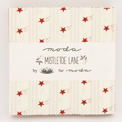 Mistletoe Lane - Charm Pack by MODA