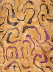 Tiger Lily Basics Batik by Moda-Purple Swirls