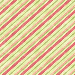 "9"" Remnant Piece - Multi-colored Candy Stripes- Mulberry Lane-Raspberry Lane By Susan Beevers"