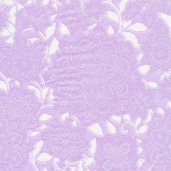 Piccadilly - Lilac Tonal Vine with Silver Metallic Shimmer - by Paintbrush Studios