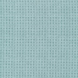Piccadilly - Teal Dot with Silver Metallic Shimmer - by Paintbrush Studios