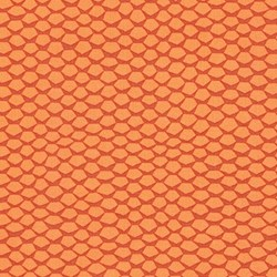 Reef - Mango Honeycomb - by Elizabeth Hartman for Robert Kaufman Fabrics
