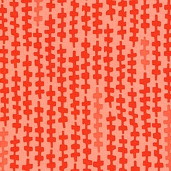 Reef - Flame Zipper - by Elizabeth Hartman for Robert Kaufman Fabrics