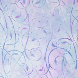 Robert Kaufman Artisan Batiks - Fancy Feathers - Lavender Swirls