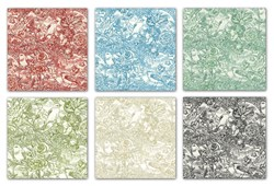 Back in Stock!   Romance Toile Fat Quarter Pack