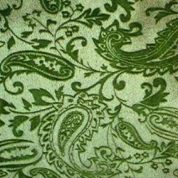 "Olive Cuddle Paisley Minky - 60"" wide"
