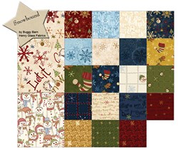 Snowbound Fat Quarter Bundle