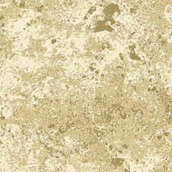 Stonehenge White Christmas Gold Metallic by Linda Ludovico