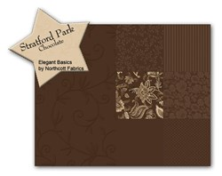 Stratford Park Chocolate Fat Quarter Bundle