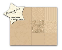 Stratford Park Fawn Fat Quarter Bundle