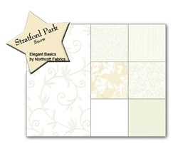 Stratford Park Snow Fat Quarter Bundle