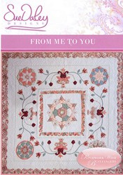 From Me to You Applique and English Paper Piecing Pattern