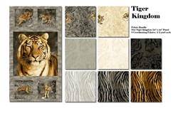 Tiger Kingdom Panel & Fabric Pack