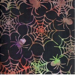 Tonga Boo Batik Rainbow Spiders by Timeless Treasures