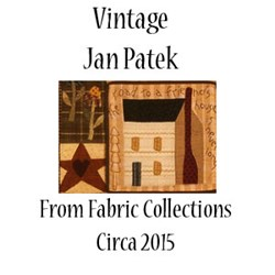 Circa 2005 Jan Patek Variety Fabric Pack