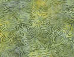 Willington Batiks Rippled Reflections Green