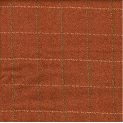"13"" Remnant - Woolies Flannel - Rust Large Plaid"