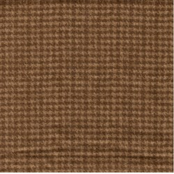 "End of Bolt - 38""  - Woolies Flannel - Brown Check"