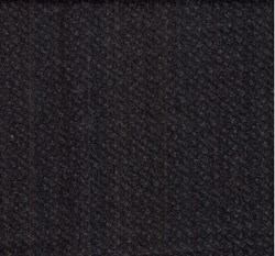 "17"" Remnant - Woolies Flannel - Black Tweed"