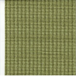 "25"" Remnant - Woolies Flannel - Green Windowpane Check"