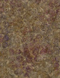 "End of Bolt - 39"" - Tonga Batiks -Mineral Matrix- Mocha Cinnamon Buns- by Timeless Treasures"