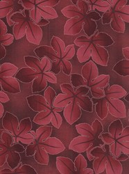 Falling Leaves- Wine  by Kona Bay Fabrics