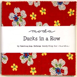 Ducks in a Row - Charm Pack by MODA