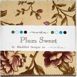 Plum Sweet - Charm Pack by MODA