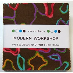 Modern Workshop - Charm Pack by MODA