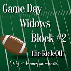 Game Day Widows Huddle - Block #2