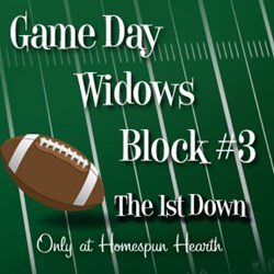 Game Day Widows Huddle - Block #3