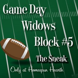 Game Day Widows Huddle - Block #5