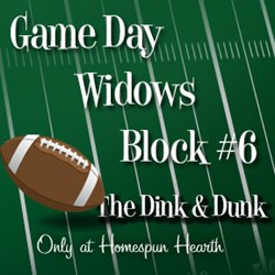 Game Day Widows Huddle - Block #6