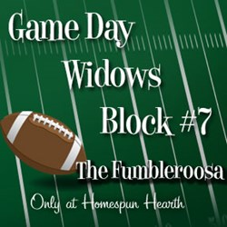 Game Day Widows Huddle - Block #7