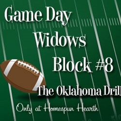 Game Day Widows Huddle - Block #8