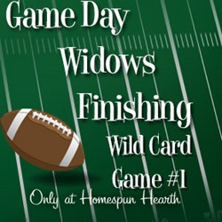 Game Day Widows Huddle - Finishing - Wild Card #1