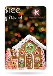 Gift Card - Gingerbread House <br>$10, $25, $50, $75, or $100