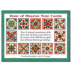 Rose of Sharon Note Cards Set