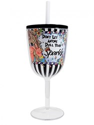 Sparkle Tingle Wine Glass