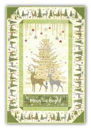 Holiday Meadow Wall Hanging Quilt Kit