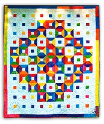 Talavera Queen Sized Quilt Pattern by  Marlous Design