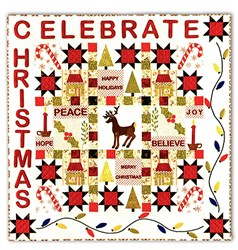 Celebrate Christmas Block of the Month Pattern