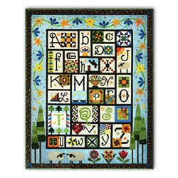 A to Z for Ewe and Me! Quilt - All at Once and Exclusive Bonus!