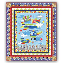New!  Air Show Quick and Easy Quilt Kit!